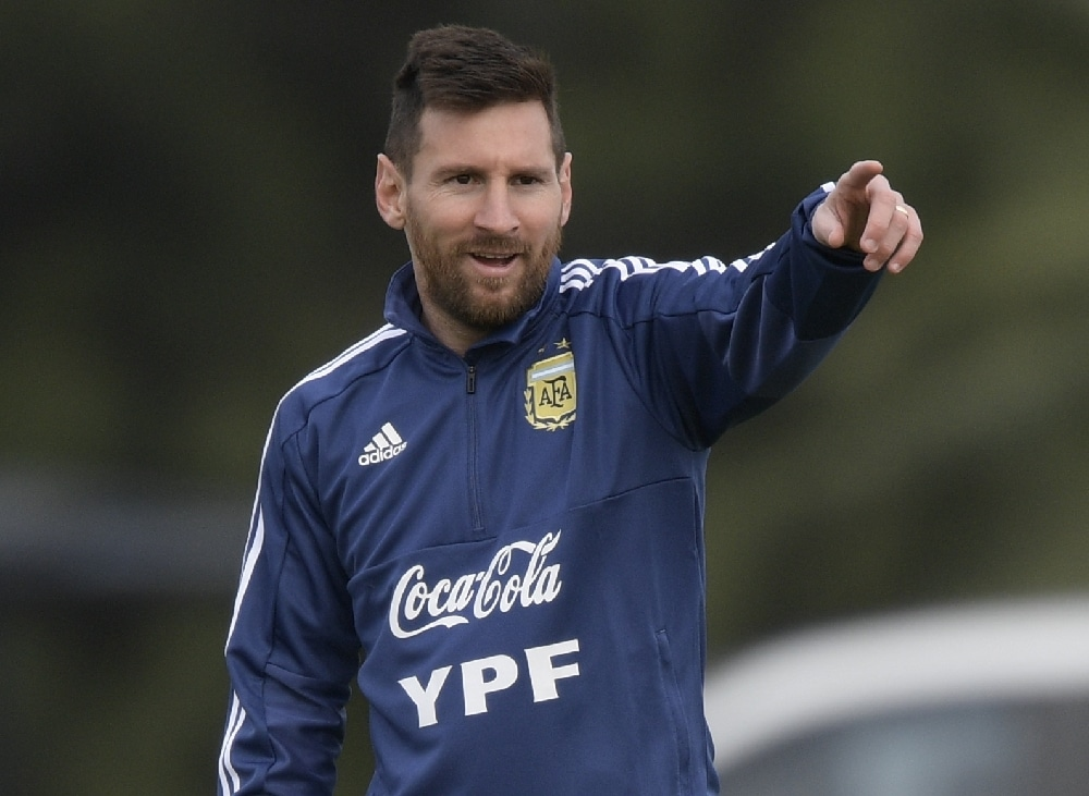 Sperre Messi